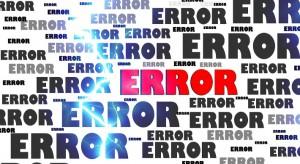 error scale