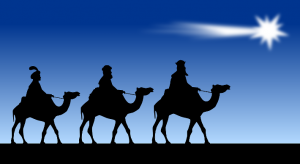 three wise men scale