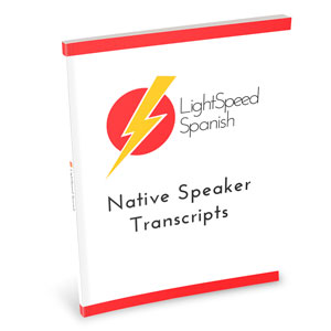 Native Speaker Transcripts