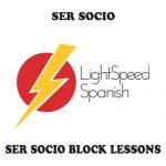 Ser Socio Block Lessons